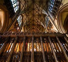 York Minster I by Svetlana Sewell