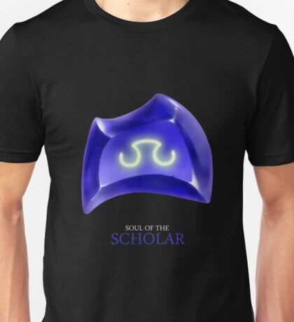 Soul of the Scholar -black Unisex T-Shirt