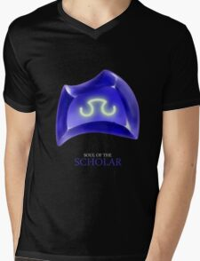 Soul of the Scholar -black Mens V-Neck T-Shirt