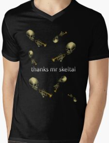 thanks mr skeltal! Mens V-Neck T-Shirt
