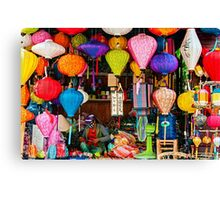 Lanterns. Canvas Print