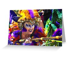 Summer Solstice parade , Santa Barbara , 2011. Greeting Card