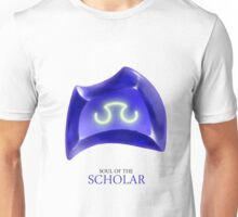Soul of the Scholar -white Unisex T-Shirt