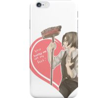 Max and broom iPhone Case/Skin