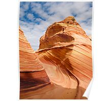 Sandstone Swirl in the Coyote Buttes Poster