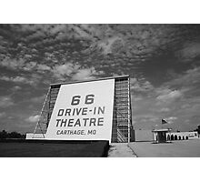 Route 66 Drive-In Theatre Photographic Print