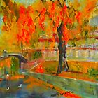 Taking a stroll by the Yarra - Melbourne VIC Australia by Margaret Morgan (Watkins)