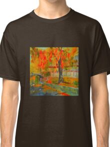 Taking a stroll by the Yarra - Melbourne VIC Australia Classic T-Shirt