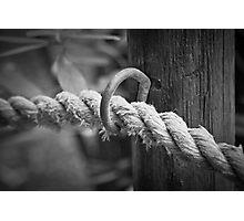 Worn & Fraying Photographic Print