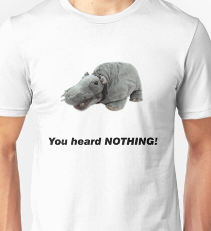 Bert the Farting Hippo Unisex T-Shirt