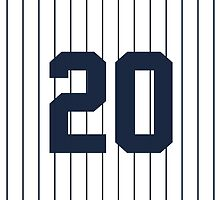 Number 20 Pinstripe Design by canossagraphics