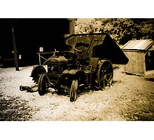 Early Ore Dump Truck  Photographic Print