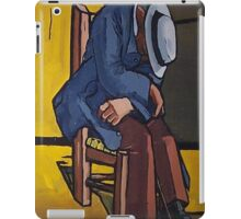 Old Man iPad Case/Skin