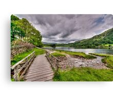 Rydal Water Walk Canvas Print