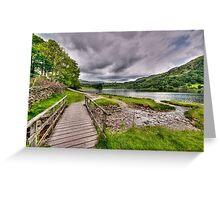 Rydal Water Walk Greeting Card
