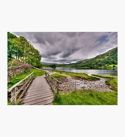 Rydal Water Walk Photographic Print
