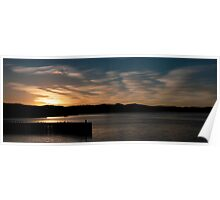 Hobart Sunrise panorama Poster
