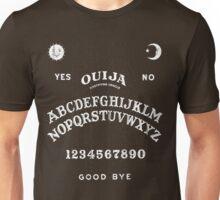 Ouija Board Fashion (white print) Unisex T-Shirt