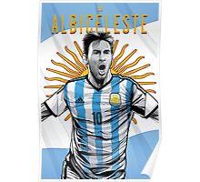 La Albiceleste | Soccer Poster