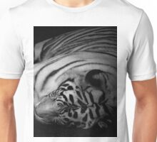 (Ivory).....Don't go to the edge of rainbows...Don't close your eyes...Like things that can't be real...The truth is really lies.....Dream Evil Unisex T-Shirt