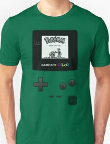 Gameboy Pokemon Green T-Shirt