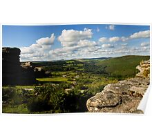 View from Combestone Tor Poster