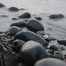 Misty Pebbles by JohnBuchanan