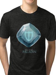 Soul of the Paladin -black Tri-blend T-Shirt