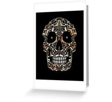 Skull Of Guns (Without title) Greeting Card