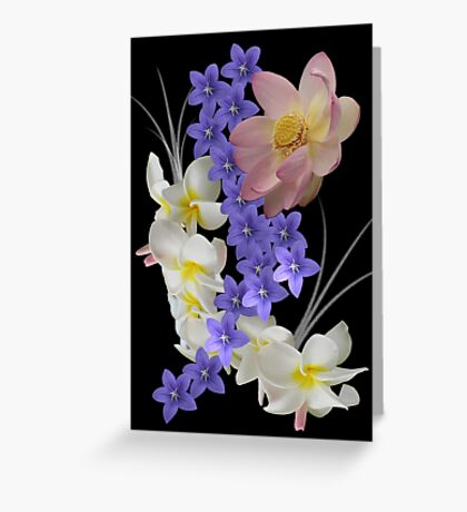 Sea of ​​flowers Greeting Card