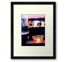 Evening Rituals Framed Print