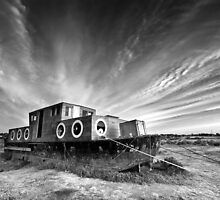 High and Dry BW by Andy Freer