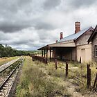 Capertee Railway Station - NSW Australia by Bev Woodman