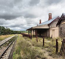 Capertee Railway Station - NSW Australia by Bev Woodman