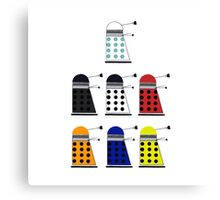 The Daleks Canvas Print