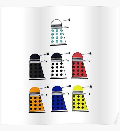 The Daleks Poster