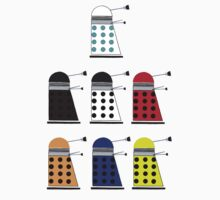 The Daleks One Piece - Long Sleeve