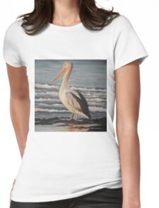 Pelican Wading  Womens Fitted T-Shirt