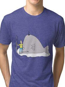 Big Catch Tri-blend T-Shirt