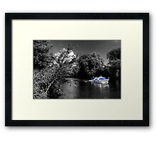 Messin about on the river Framed Print