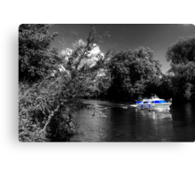 Messin about on the river Canvas Print