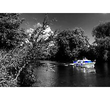 Messin about on the river Photographic Print