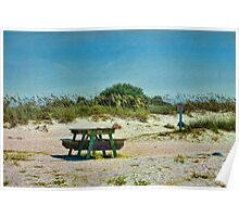 Ponce Inlet Picnic Poster