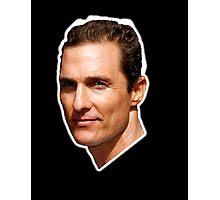Lord McConaughey Photographic Print