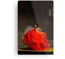 Dancer in red  Metal Print