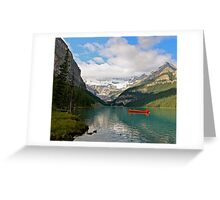 Glacial Solitude Greeting Card