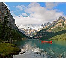 Glacial Solitude Photographic Print