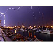 Electric Explosion Photographic Print