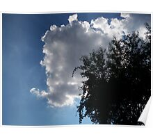 Sunshine Behind the Clouds  Poster