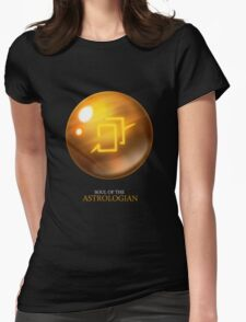 Soul of the Astrologian -black Womens Fitted T-Shirt